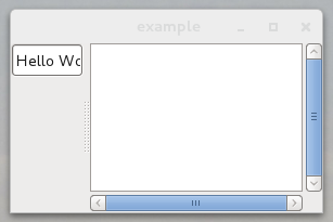 Gtk+-2 making the widget smaller